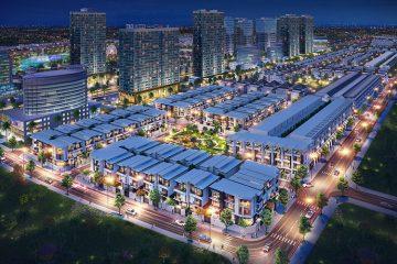 Phối cảnh tổng quan dự án Đông Tăng Long