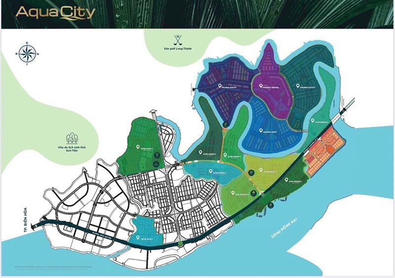 đảo phượng hoàng aqua city